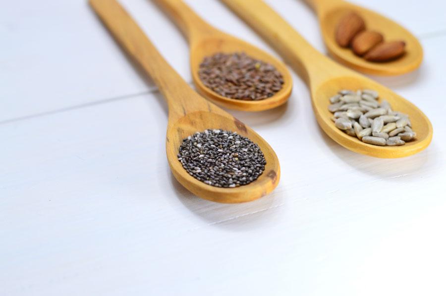 las semillas son imprescindibles en una dieta vegana