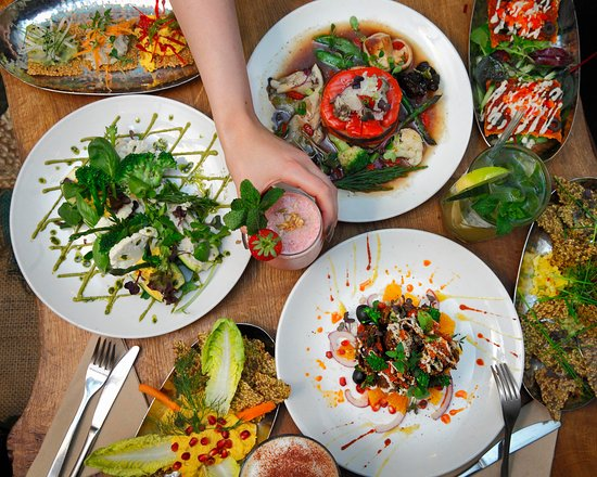 buffet libre vegano londres