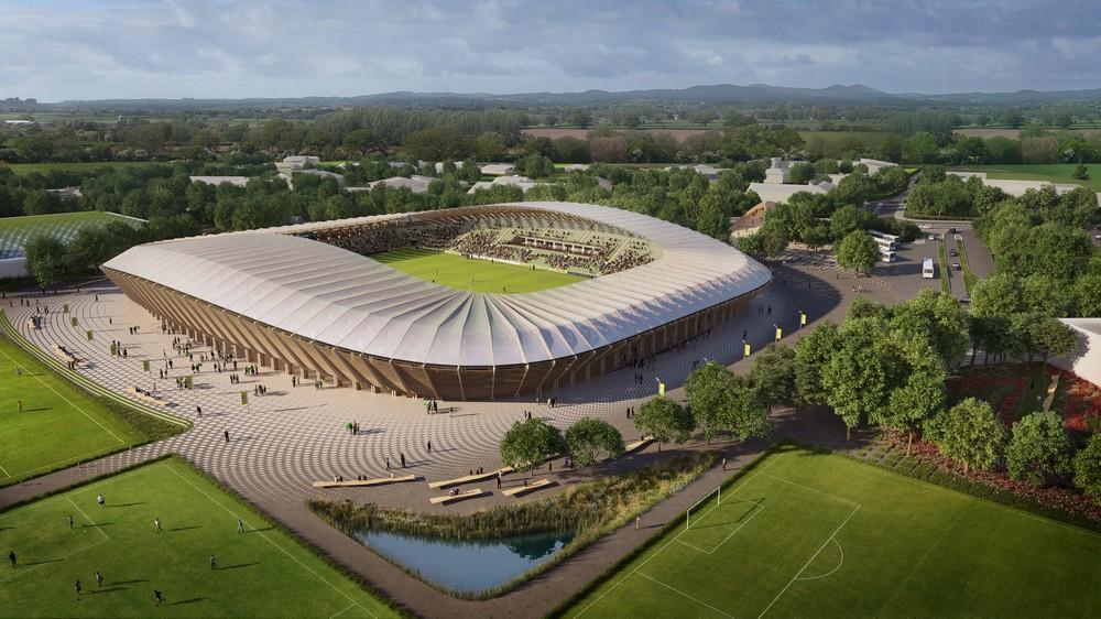 estadio de futbol sostenible
