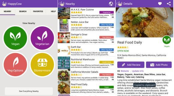 app restaurantes vegetarianos